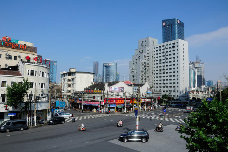 City of Shanghai stock photos