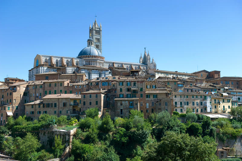 City of Siena royalty free stock photography