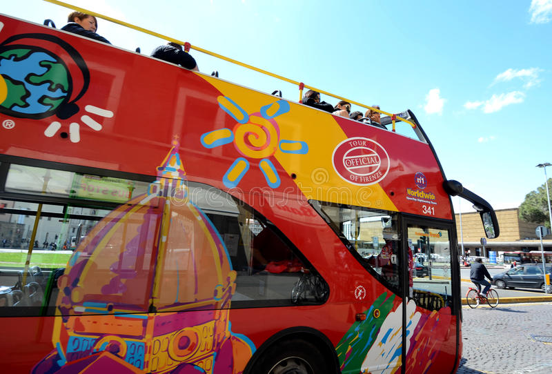 City Sightseeing Firenze stock images