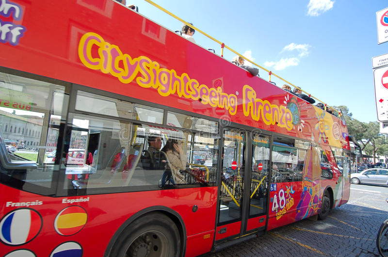 Download City Sightseeing Firenze editorial stock image. Image of italian - 25475024
