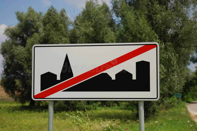 Download City sign stock image. Image of billboard, corporate, announcement - 6962693