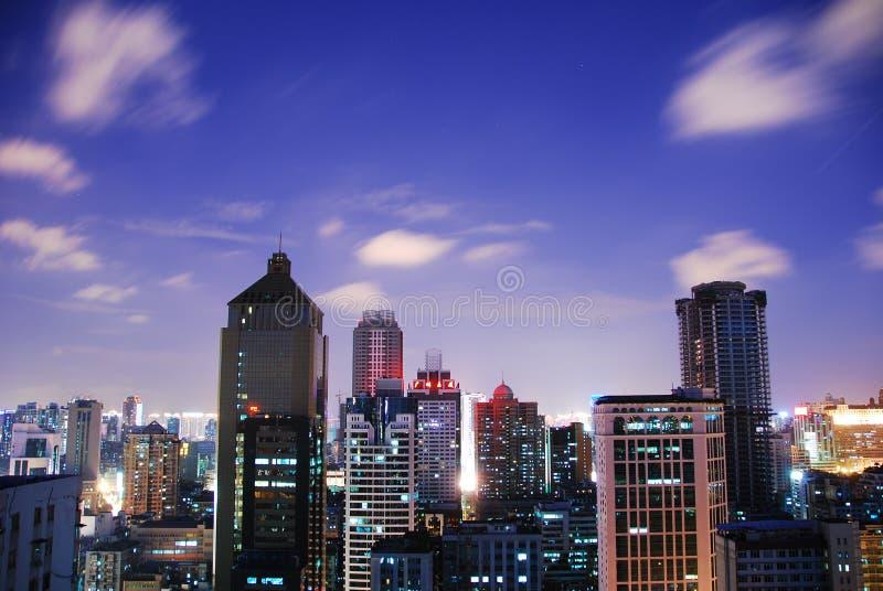 City sky stock image