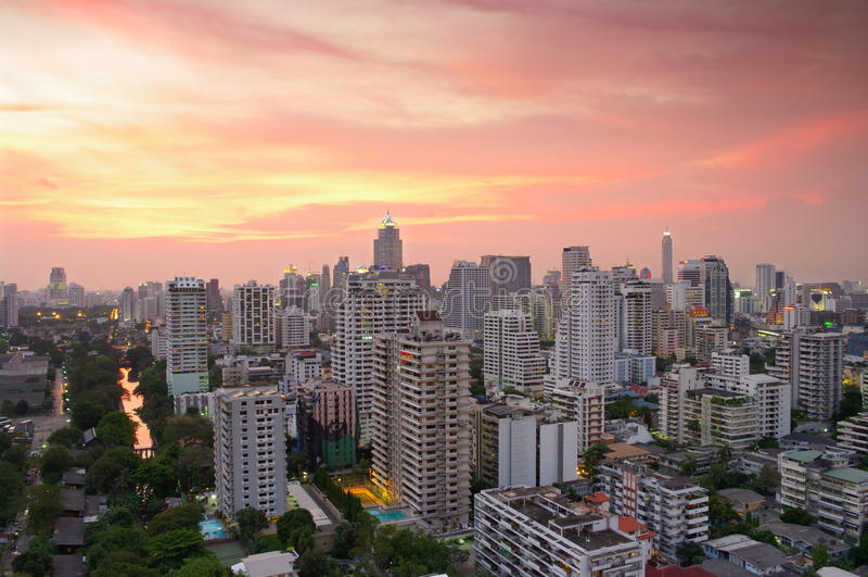Download City Skyline stock photo. Image of bangkok, cosmopolitan - 11489442
