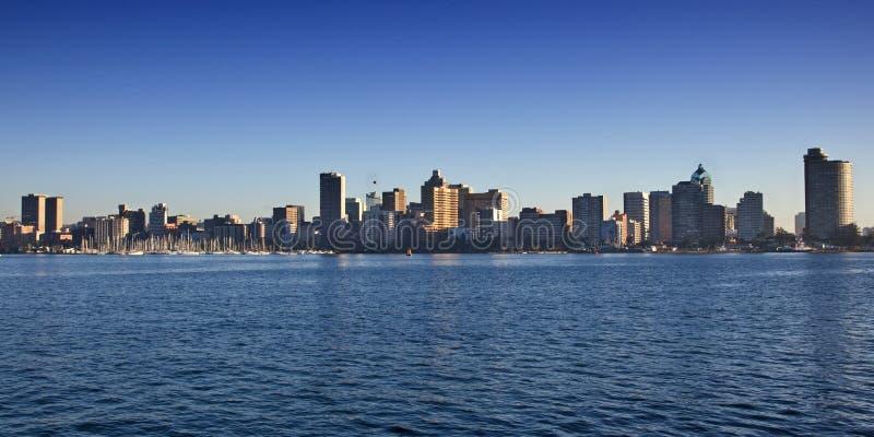 City skyline royalty free stock photos