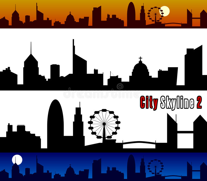 City Skyline [2] Royalty Free Stock Image