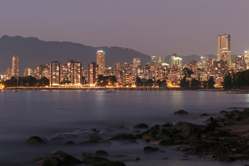city skyline στοκ εικόνα