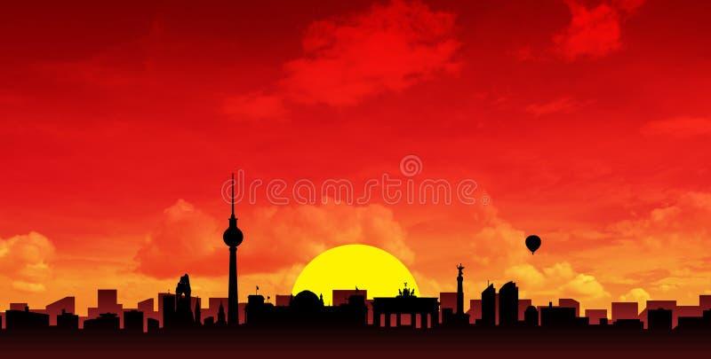 Download City skyline stock illustration. Image of black, cityscape - 7640053