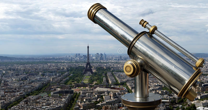 Download The City Skyline At Daytime. Paris, France Stock Photo - Image: 24939164