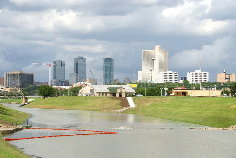 City Skyline Fort Worth, Texas