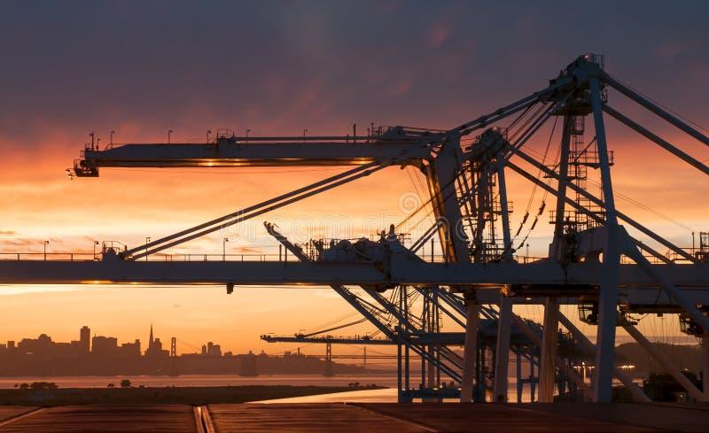 Download City Skyline At Near Sunset. Stock Photo - Image: 32033810