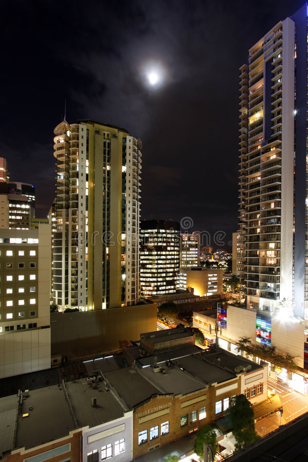 Download City skyline night stock image. Image of darkness, australia - 5455371