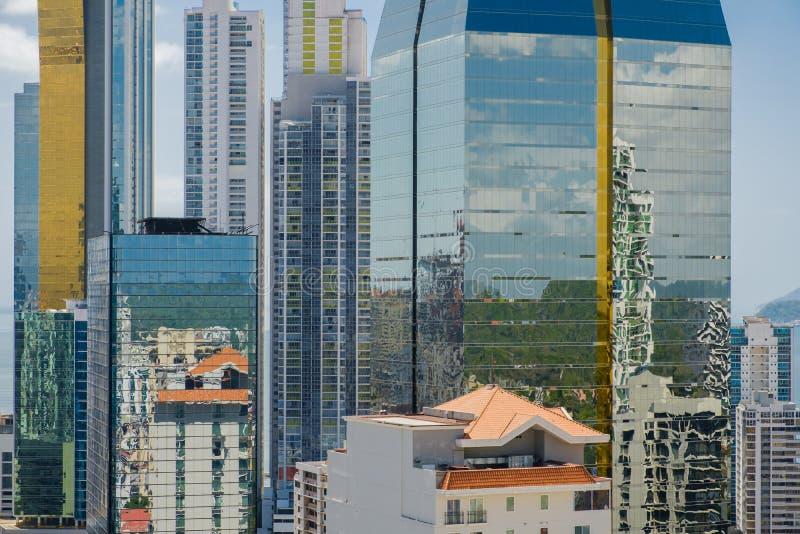 City skyline, skyscraper buildings, modern cityscape of Panama C stock photography