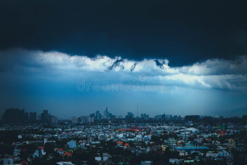 City Skyline Under Blue Sky royalty free stock photo