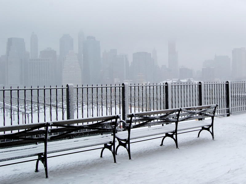 Download City in Snow stock photo. Image of gray, cold, white - 17627196
