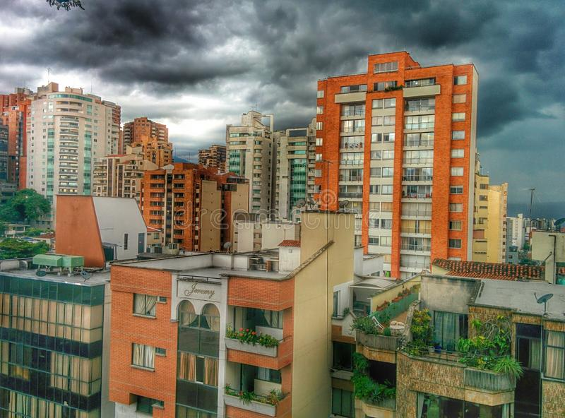 City South America stock images