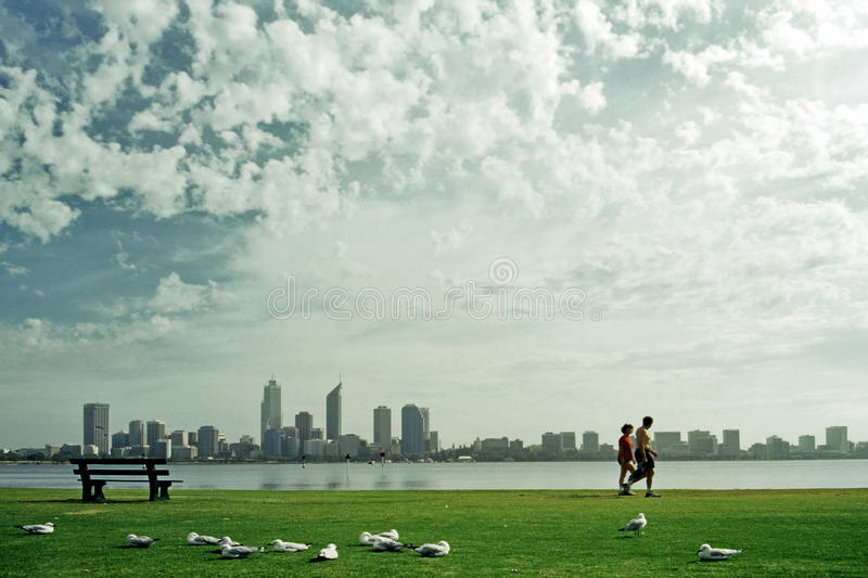 City Of South Perth, Western Australia stock image
