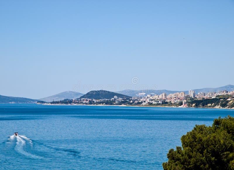 Download City - Split stock image. Image of hills, horizon, adriatic - 5643771