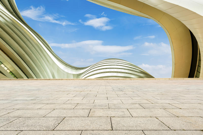 Download City Square And Abstraction Of Modern Architecture Stock Image - Image: 62172207