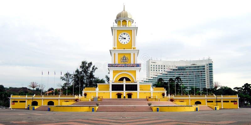 City Square Clock Tower. Johor Bahru, Malaysia stock photo