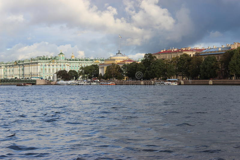 The city of St. Petersburg stock photos
