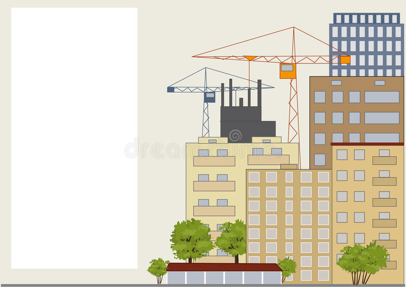 Download City street stock vector. Image of real, background, city - 28746528
