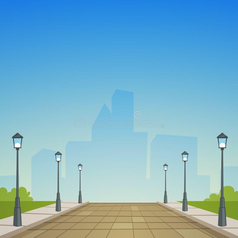City Street stock illustration