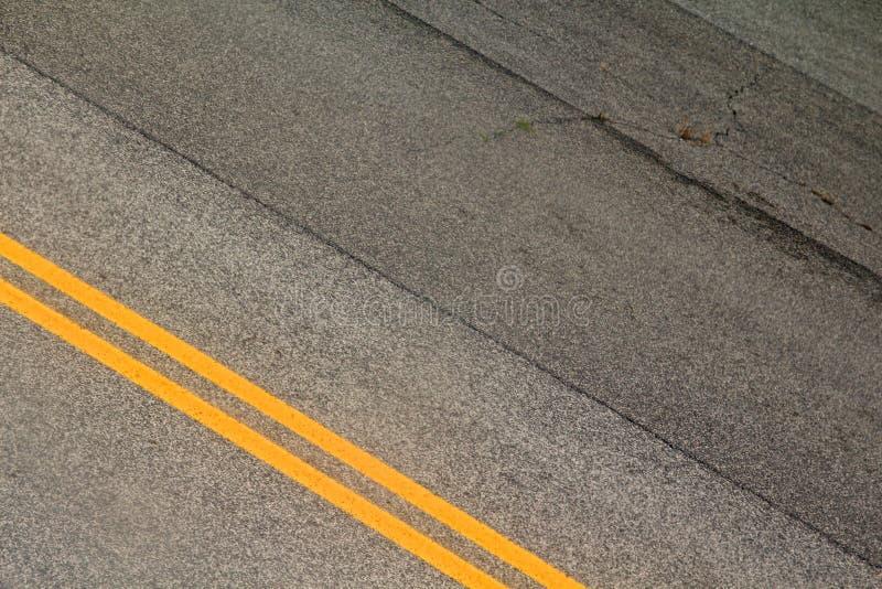 City street lines stock photography