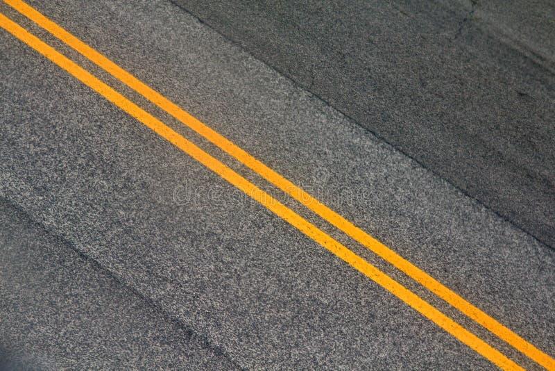 City street lines stock photo