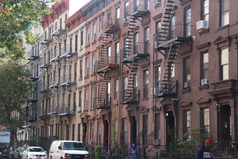 City Street New York City, Manhattan royalty free stock images
