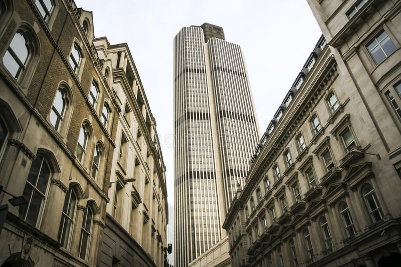 City Street Offices London England Royalty Free Stock Image