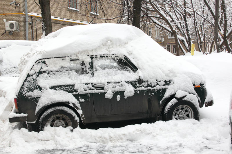 Download Snowfall in the city. stock image. Image of ideas, driving - 29722895