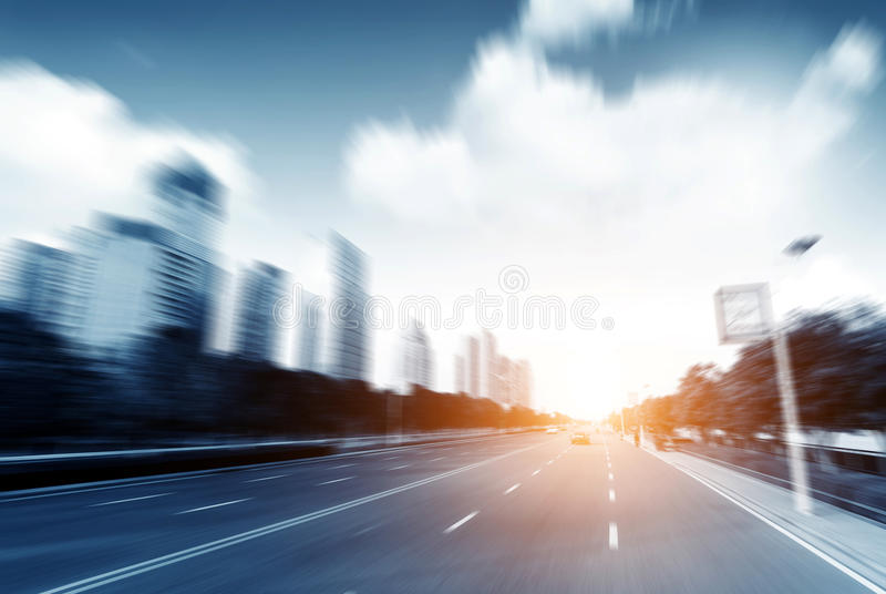 City streets royalty free stock images