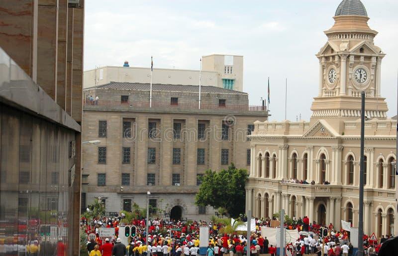 City on strike