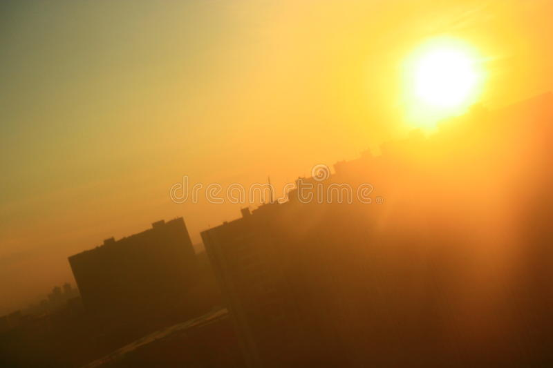 Download City Sunrise Royalty Free Stock Photography - Image: 11958577