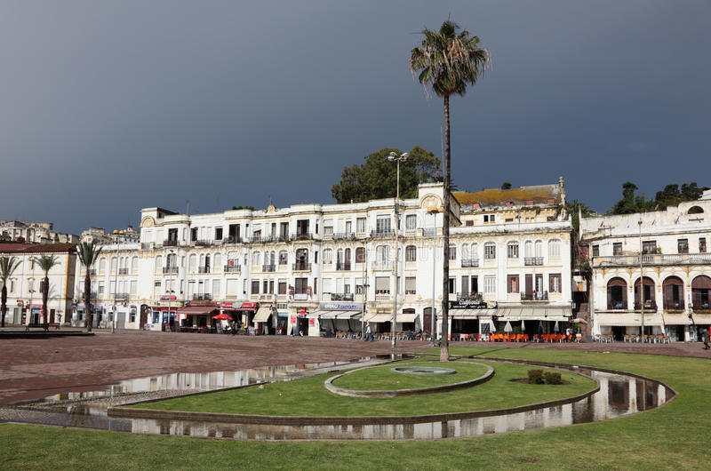 City of Tangier, Morocco stock photography