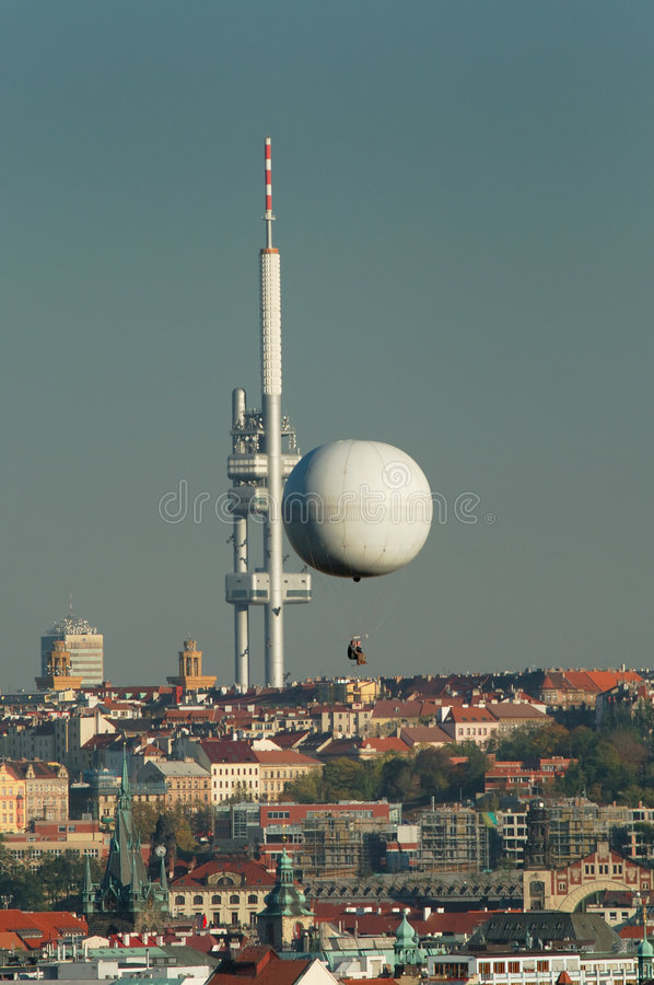 Download City Telecommunication Tower Stock Photo - Image of broadcasting, spires: 3615406