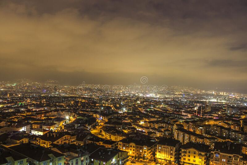 City Top View royalty free stock photo