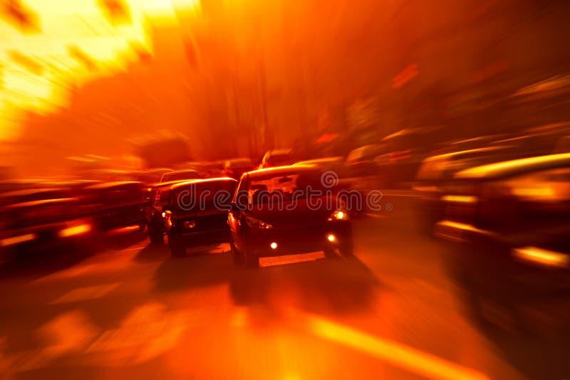 city traffic στοκ εικόνα