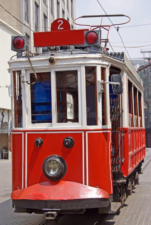 City tram stock image