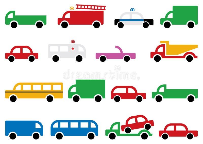 Download City transport symbols stock photo. Image of pickup, cars - 15793924
