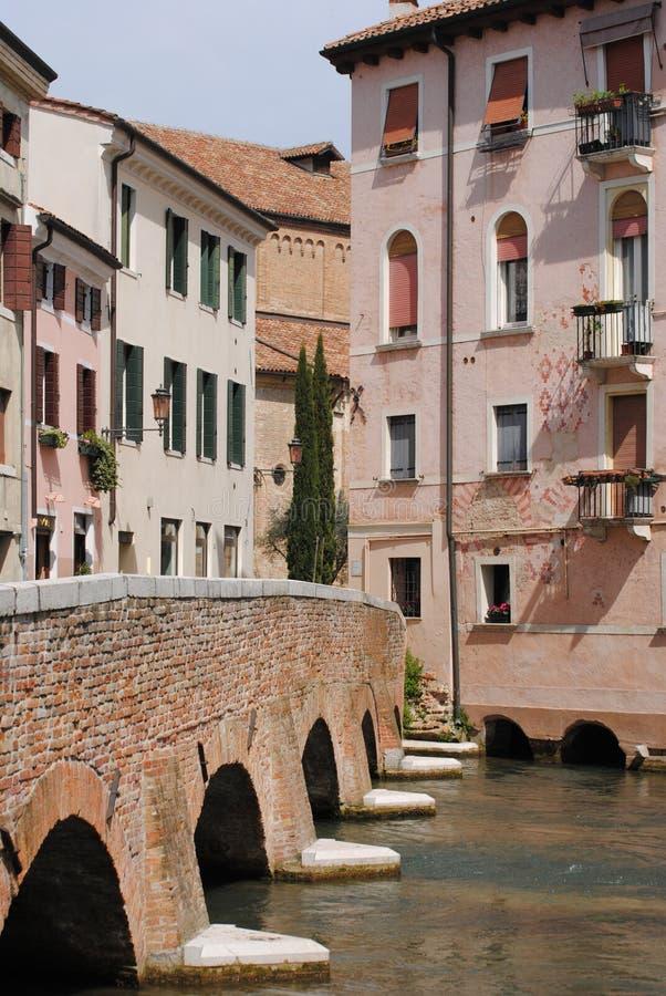 City ??of Treviso royalty free stock photography
