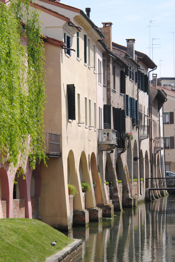 City ??of Treviso royalty free stock images