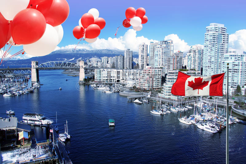 City of Vancouver stock image