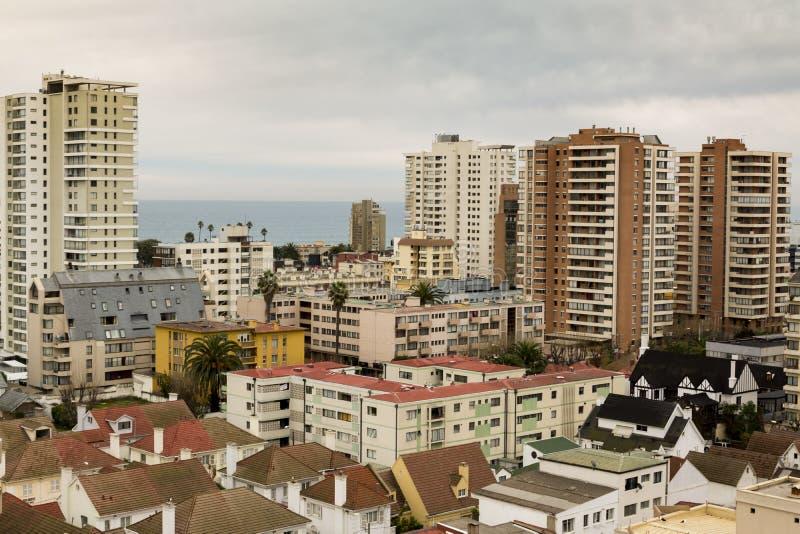 City of Viña del Mar, Chile royalty free stock photography