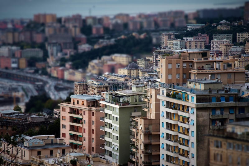 City view stock photography