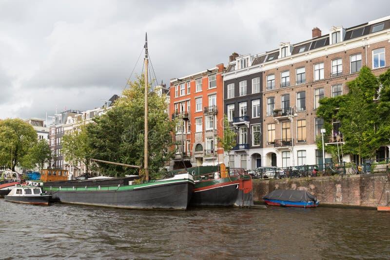 City View Of Historic Amsterdam Stock Photos