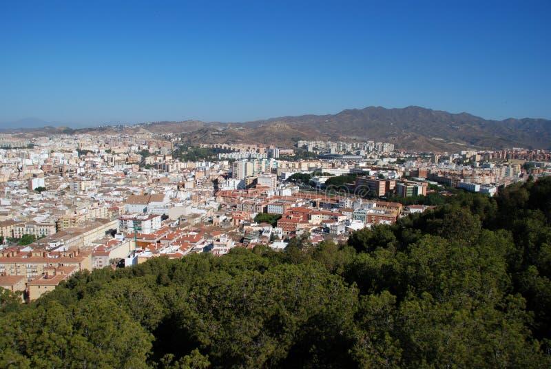 City view, Malaga, Andalusia, Spain.