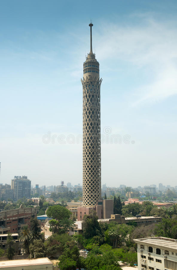 Free City View Of Cairo Tower Stock Images - 31961694