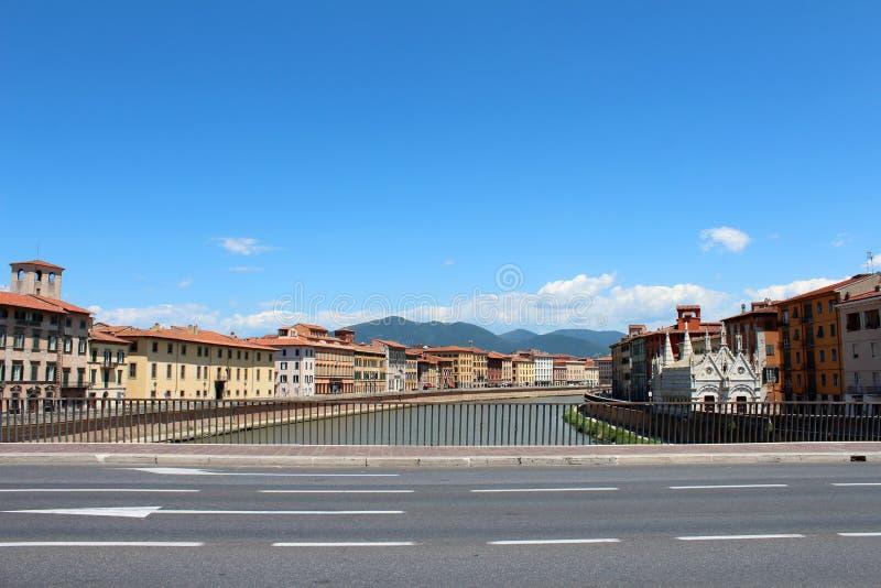 City view of Pisa, Italy stock photos