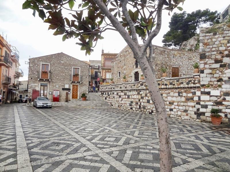 Taormina in Sicily royalty free stock photography